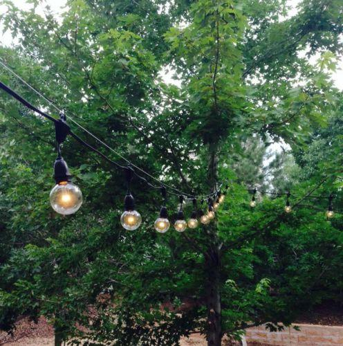 Outdoor Patio Globe Party Light 25FT G40 US