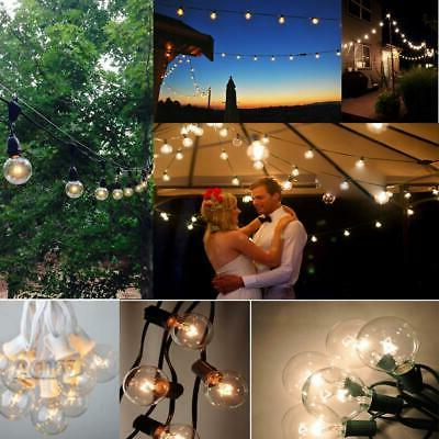 outdoor string lights for patio globe party