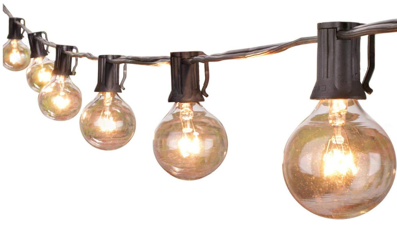 Outdoor String Globe Bulbs Garden Waterproof
