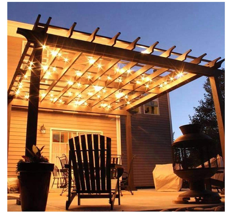 Outdoor String Lights Globe Garden