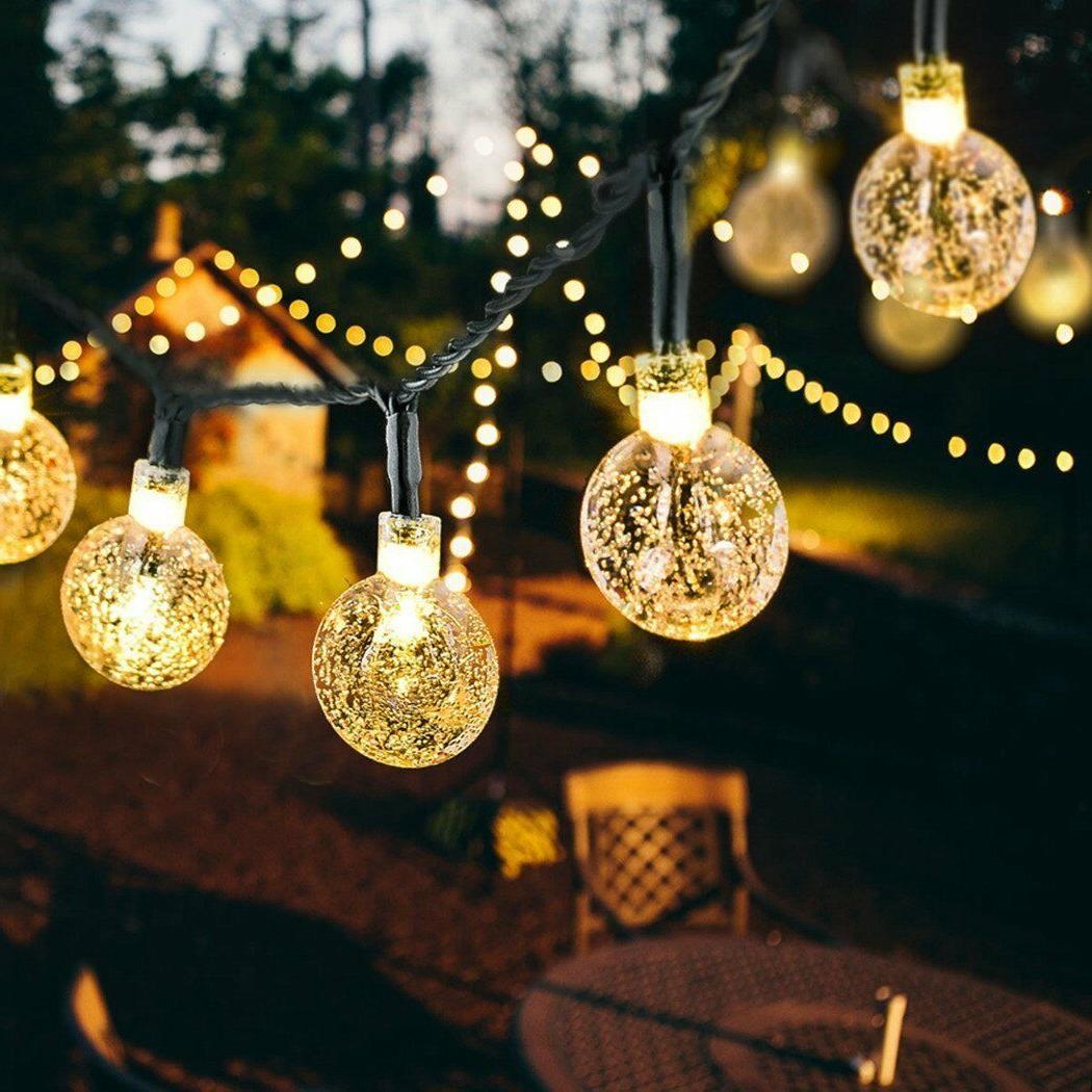 outdoor string lights patio party yard garden