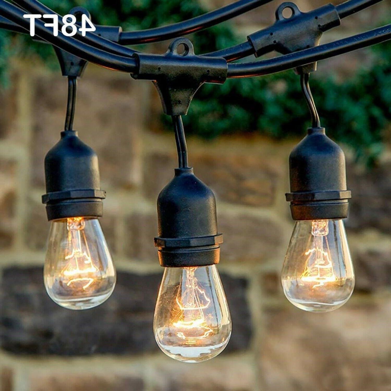 Outdoor Lights Vintage Grade 48Ft