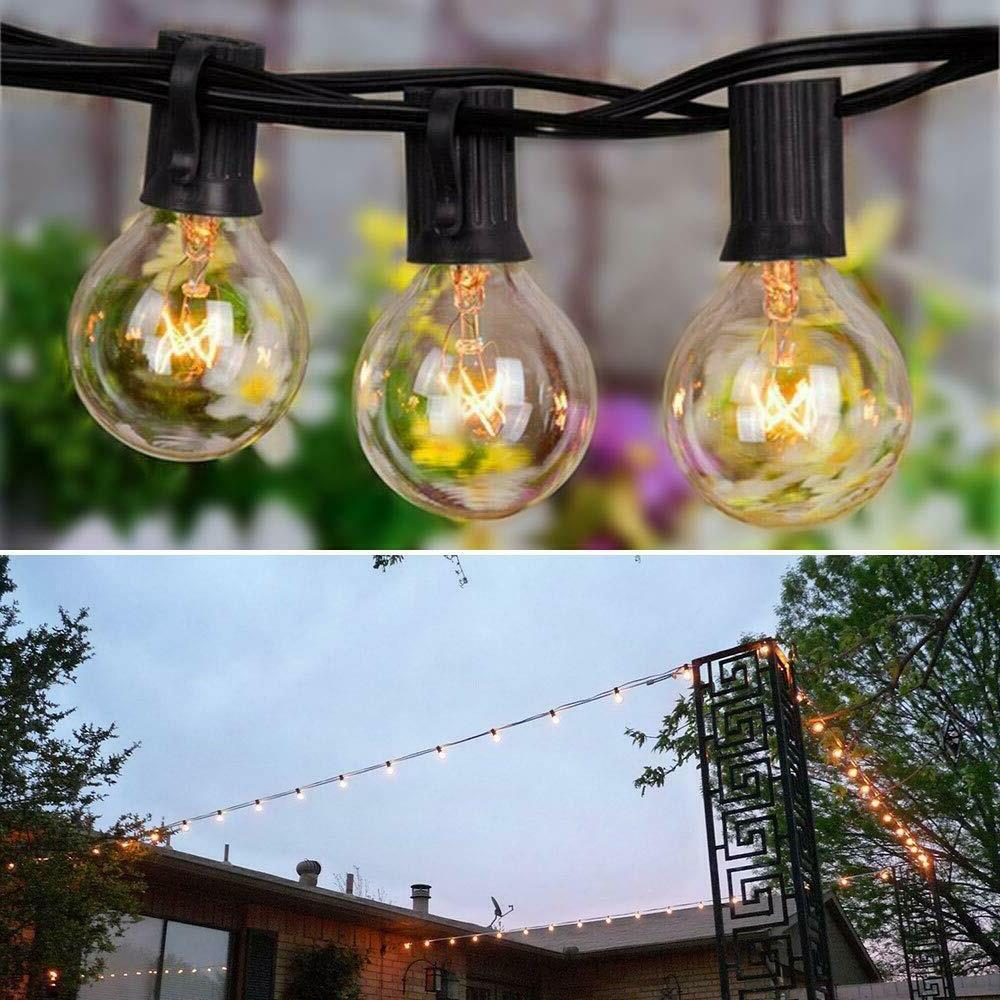 Outdoor Yard Garden 25 Globe Bulbs