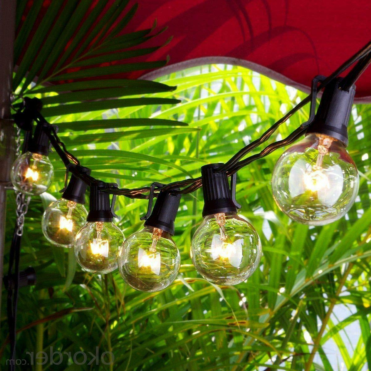 Yard Garden Waterproof 25 G40 Globe Bulbs