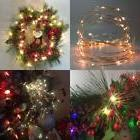 Pack 2 Battery Operated Lighting Indoor Starry String Lights