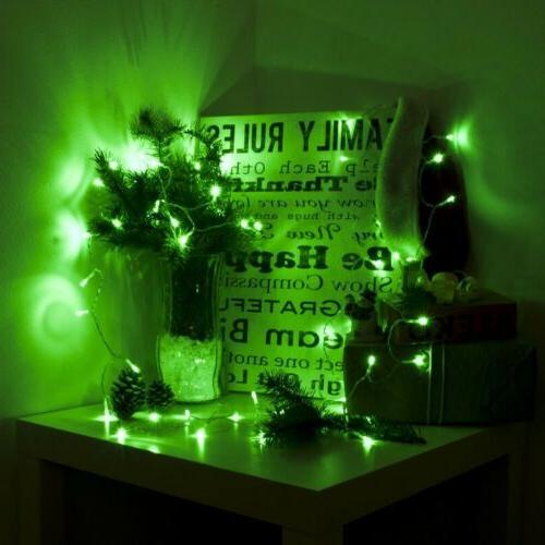 ALEKO Lights Christmas Green Color 50