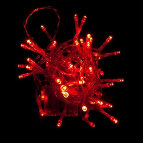 ALEKO Party Lights Christmas Red Color