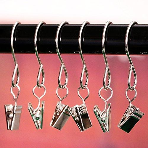 100 Hanger Hanging Clamp Hanger Clips for String Lights Party Activities