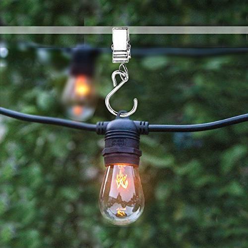 100 Hanger Clips Lights Activities