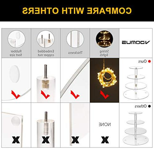 Vdomus Stand Lights for Birthday/Wedding Party