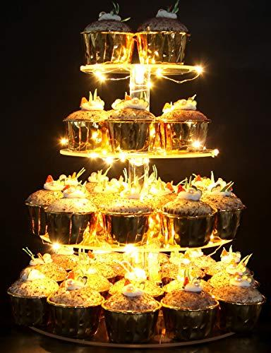 pastry stand 4 tier acrylic