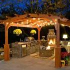 Pergola Lights Gazebo RV Patio Outdoor String Exterior Hangi