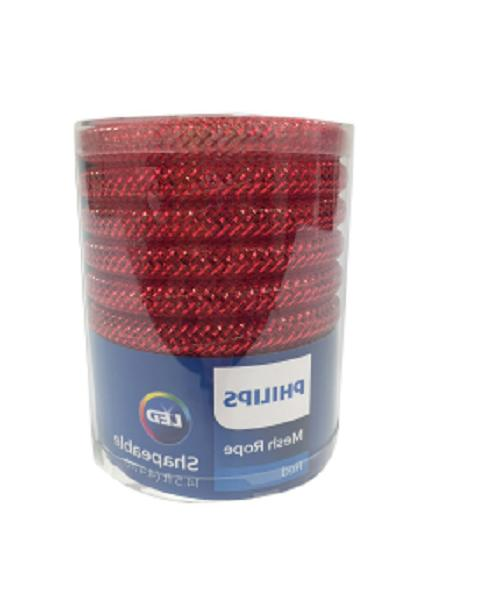 Phillips Mesh Rope, Red