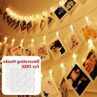 Photos Clips String Lights for BedroomDecorating Hooks Combo