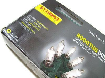 GE Pro Line Outdoor Commercial Grade Quality Clear Mini Bulb