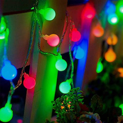 ALOVECO Lights, Ball Lights, 8 Modes, Battery Starry Fairy String Lights Bedroom, Wedding,