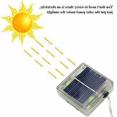 ErChen Control Solar Cute Lights,