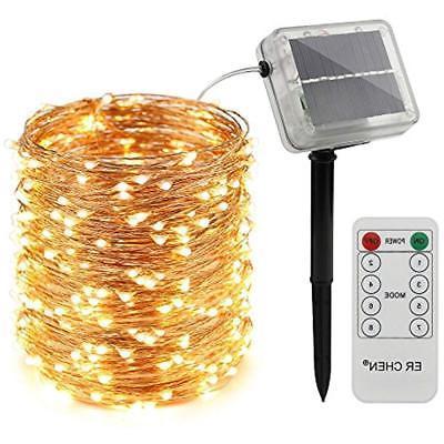 remote control solar powered string