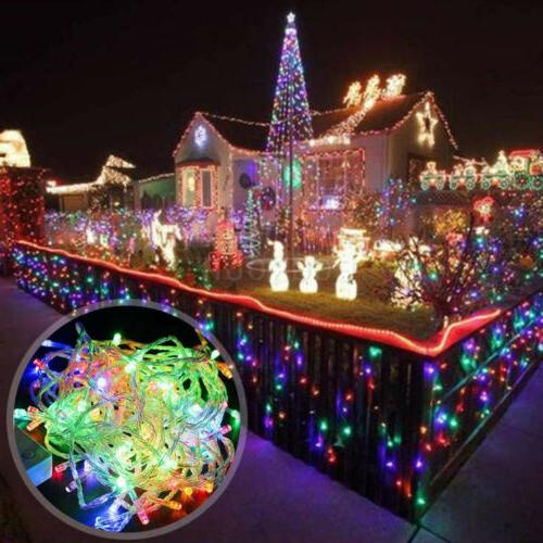 100-500 Light Outdoor Garden Xmas Fairy Tree Lamp