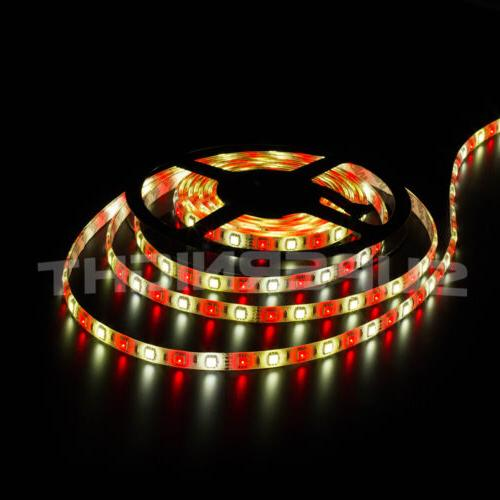 SUPERNIGHT® RGBW 5050 SMD RGB+White 300 LEDs Strip IR Remote & Power