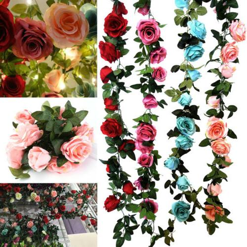 Real Weddings Study: Rose Vine LED String Light Wedding Real Touch