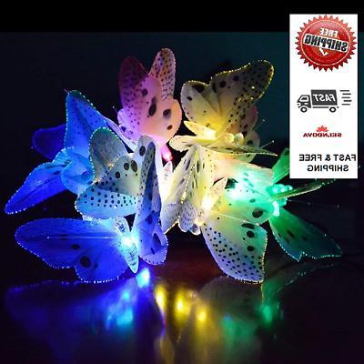 s12 fiber optic butterfly shaped