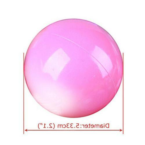 300pcs Kid Pit Toy Fun Colorful Soft Plastic Ocean Ball