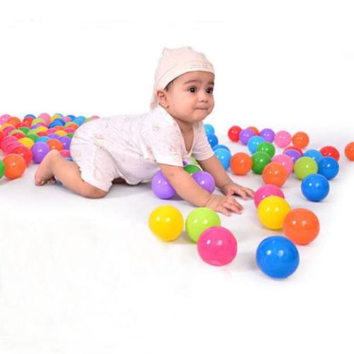 300pcs Quality Secure Baby Kid Swim Fun Colorful Soft Ocean