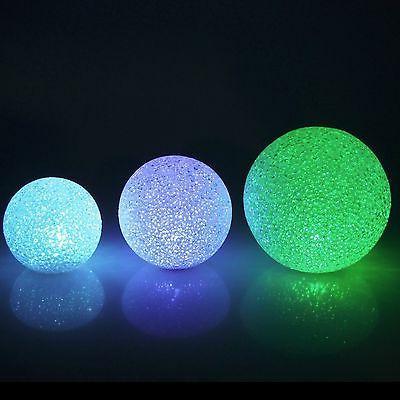 Snow Crystal LED Ball Light Centerpiece, Multi-color