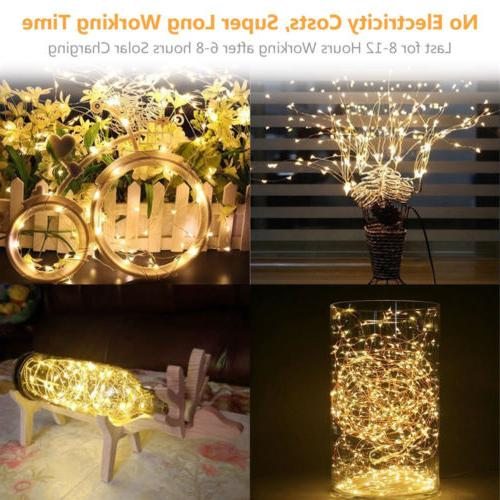 Solar Lights 100 Waterproof Decor