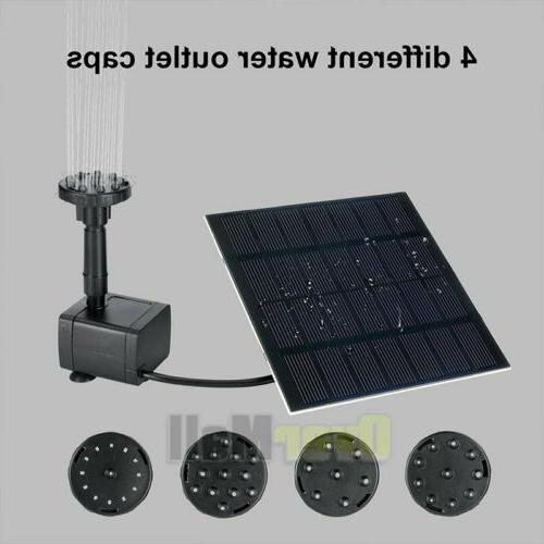 Solar Power Submersible Water Pump With Panel
