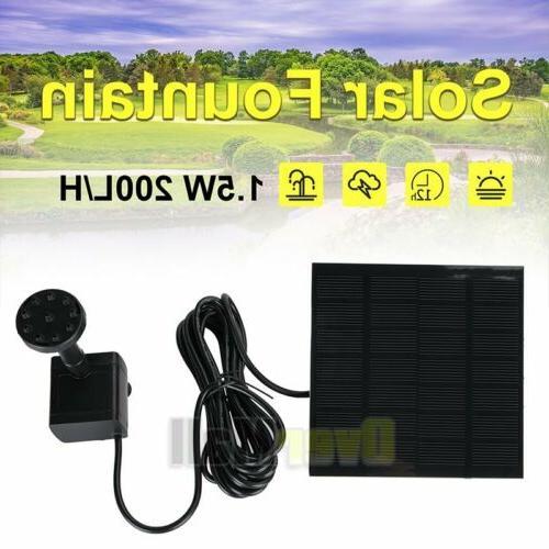 Solar Power Water Panel
