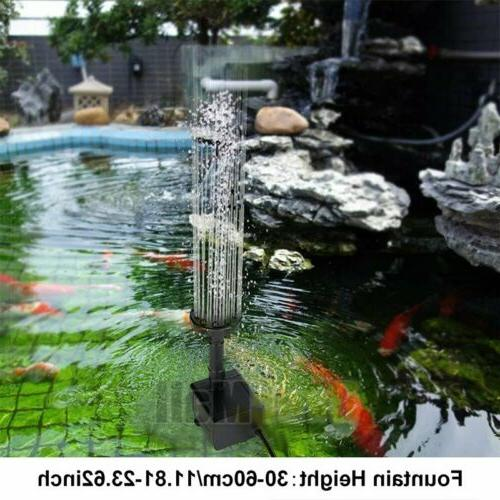 Solar Water With Panel Pond