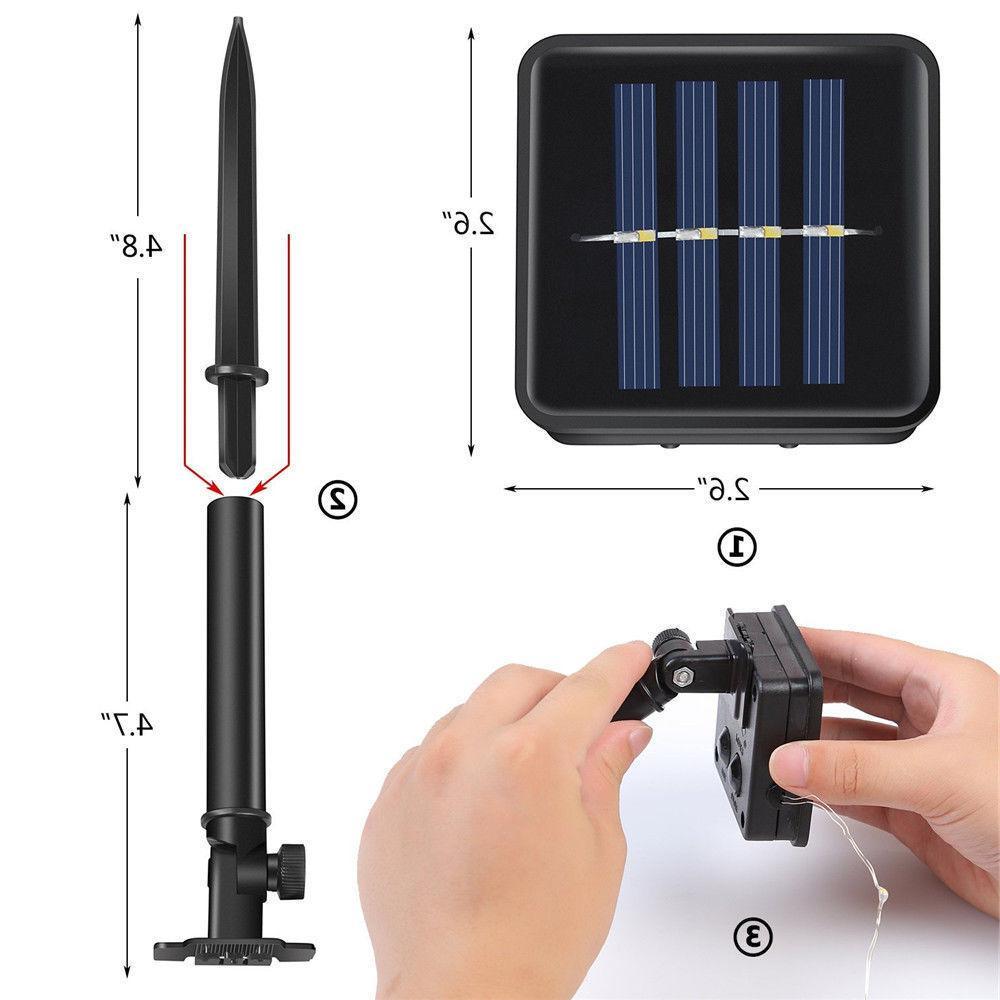 Solar Power Lights 100 Fairy