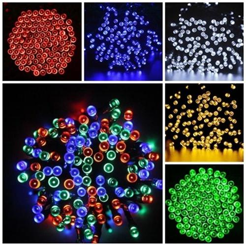 Solar Powered LEDs String Light Wedding Xmas i