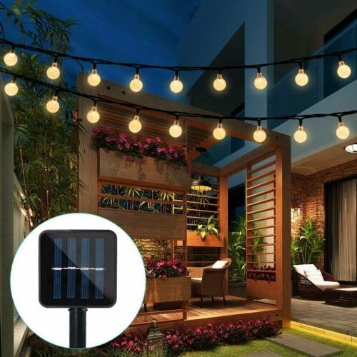 solar powered 30 led string light garden
