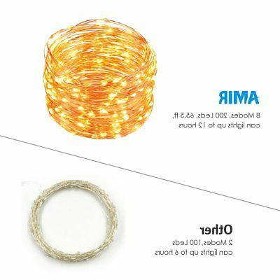 AMIR Lights, LED Copper Wire Modes