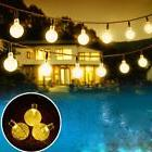Outdoor Solar Powered String Waterproof Lights 20 ft Garland