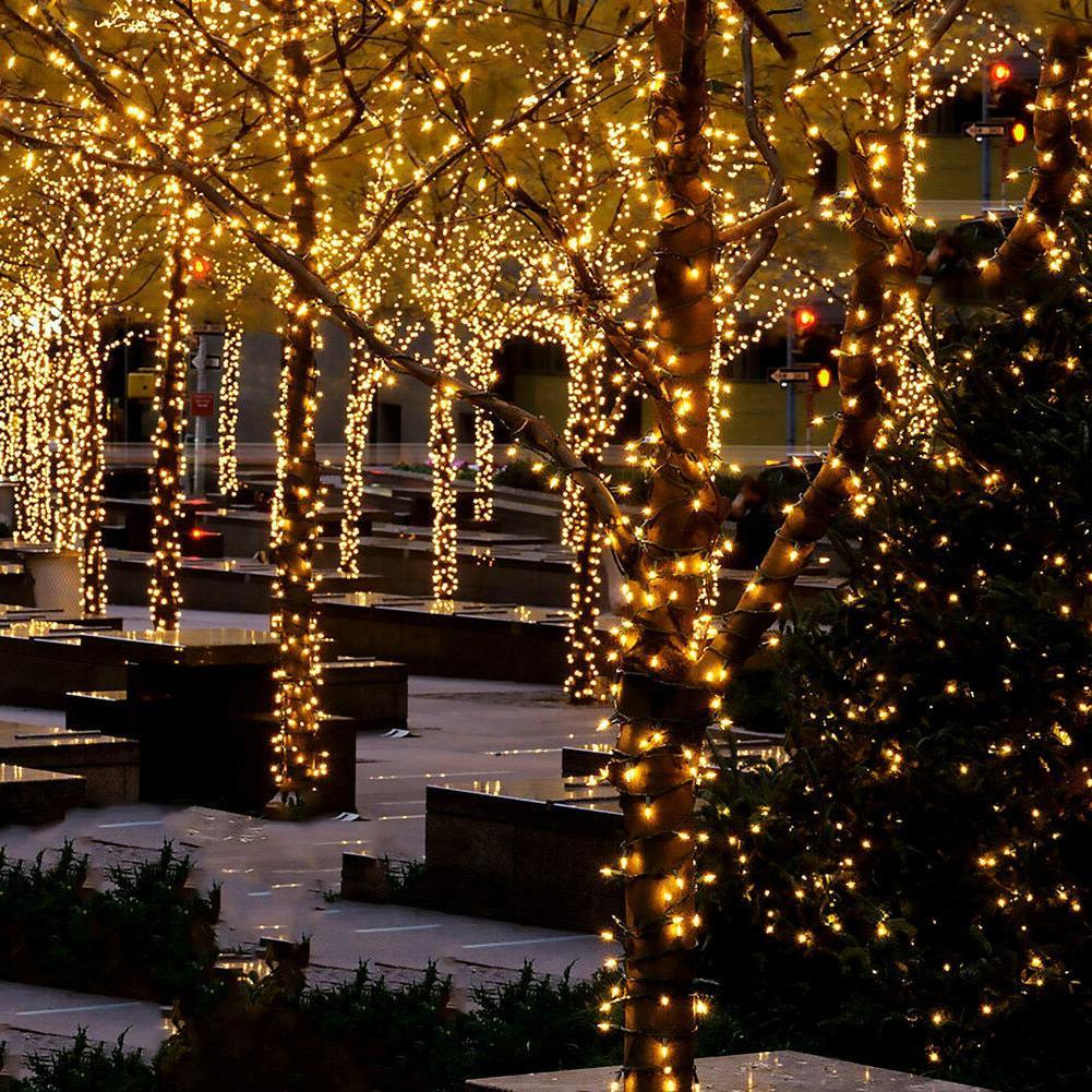 Solar String LED Powered Christmas Garden Lamp