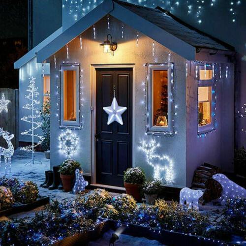 Solar String LED Solar Powered Christmas Garden Fairy