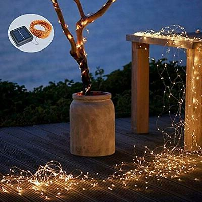 Solar Lights, 200 LEDs 8 Fairy