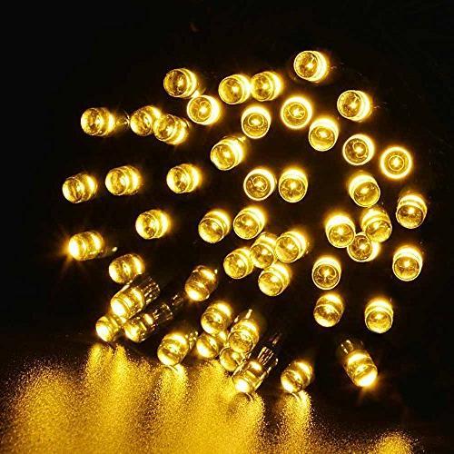 Solar Lights, OFTEN 20m 200 8 Modes String Lights for Gardens, Party