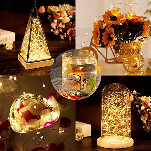 Moreplus Solar 100 Modes Copper Wire Lights Indoor/Outdoor Waterproof Decorative Lights Garden, Patio, Home, Christmas