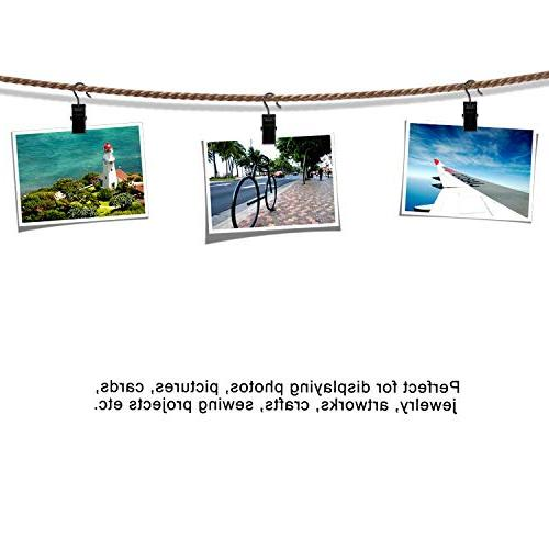 Coideal Steel Curtain Party Lights Wire Holder for Photos, and Outdoor Activities