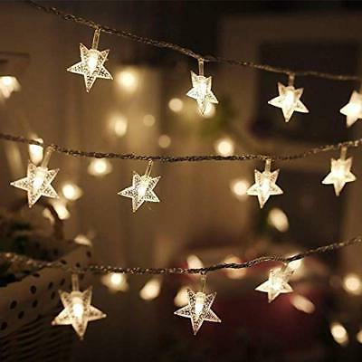 Star String Lights LED Plug In Waterproof Extendable For Indoor
