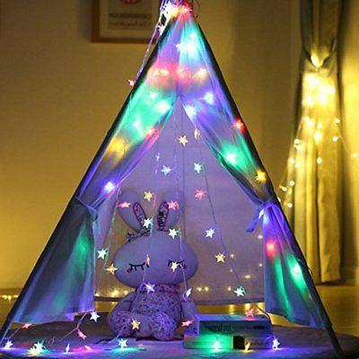 Star String Lights 100 Color Indoor