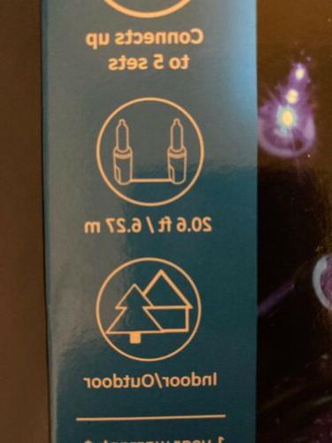 GE String-A-Long BLUE Incandescent Lights