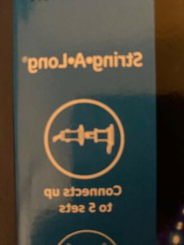 GE String-A-Long BLUE Lights