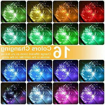 String 100 Led 16 Multi With