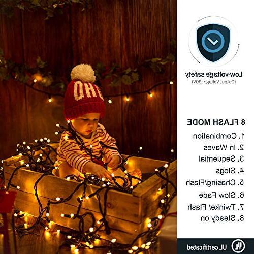 Novtech String 82FT LEDs Lights Indoor for Home Bedroom Garden Holiday